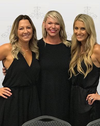 WEBBY Dance company franchisee Amanda Alves, Stacy Diaz & Angie LaBarbera